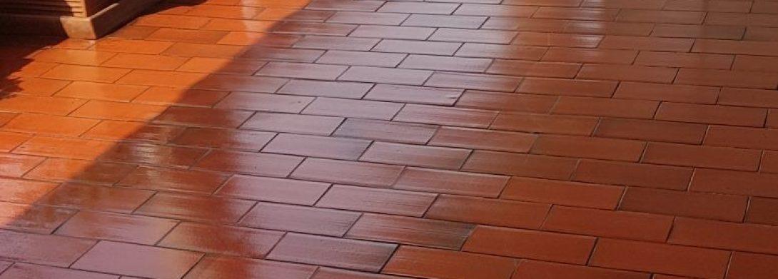 Lavaggio e Trattamento terrazzo / balcone a Villasanta (MB)